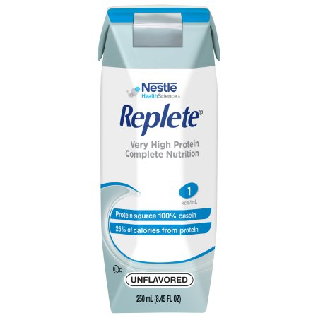 Tube Feeding Formula Replete® 8.45 oz. Carton Ready to Use Unflavored Adult Product Image