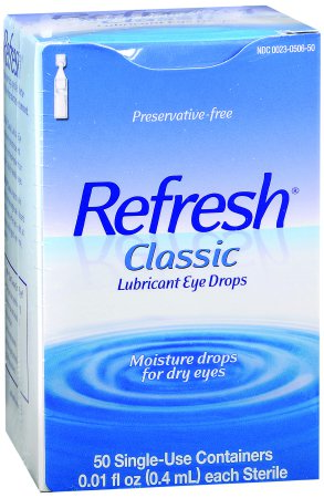 Refresh® Classic Eye Lubricant, 0.01 oz. Ampule