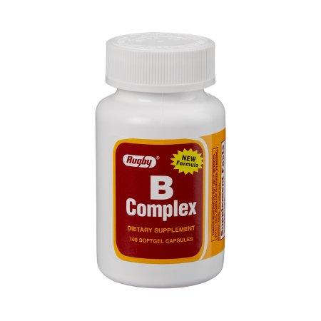 Major® Vitamin B Supplement, 100 Softgels per Bottle
