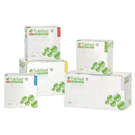 Dressing Retention Bandage Roll Tubifast® 7.5 cm X 10 m, 20 to 45 cm Limb Blue Product Image