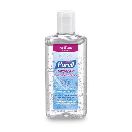 Hand Sanitizer Purell® Advanced 4.25 oz. Ethyl Alcohol Gel Bottle Product Image