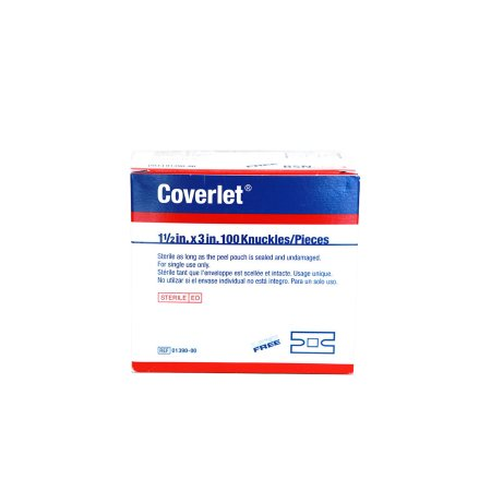 Coverlet® Knuckle Beige Adhesive Strip, 1½ x 3 Inch