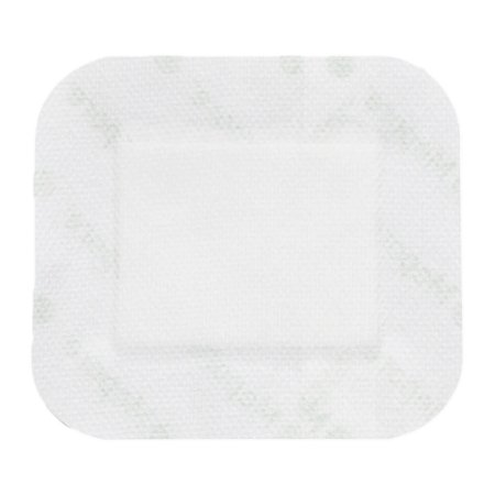 Adhesive Dressing Mepore® 2-1/2 X 3 Inch Nonwoven Spunlace Polyester Rectangle White Sterile Product Image