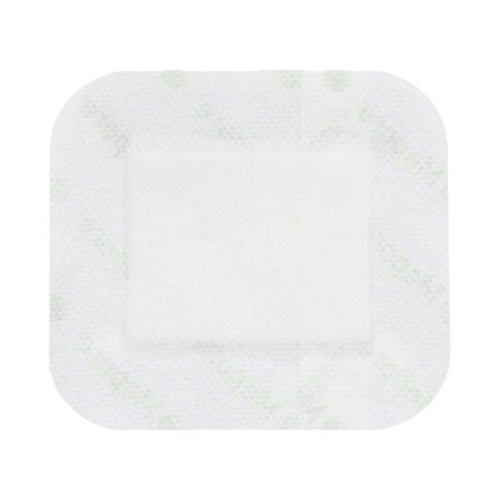 Adhesive Dressing Mepore® 3-3/5 X 6 Inch Nonwoven Spunlace Polyester Rectangle White Sterile Product Image