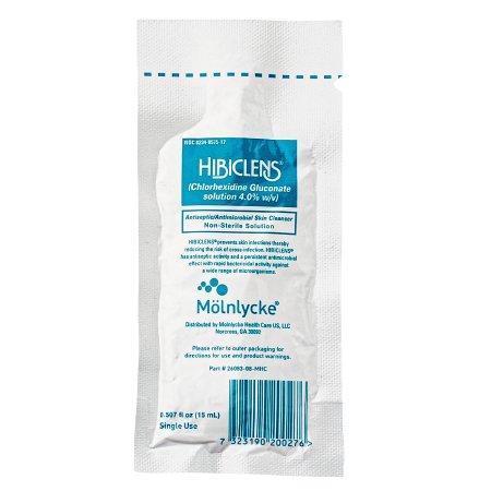 Surgical Scrub Hibiclens® 15 mL Individual Packet 4% Strength CHG (Chlorhexidine Gluconate) Product Image