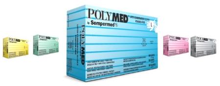 Medium 7-7.5 PM103 Ventyv Polymed Latex Exam Glove