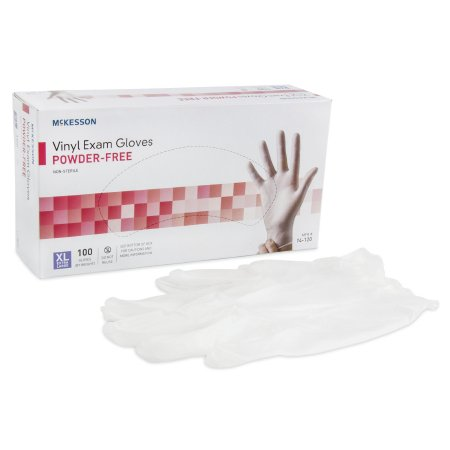 EXAM GLOVE NONSTERILE CLEAR POWDER FREE X-LARGE (100/BX)