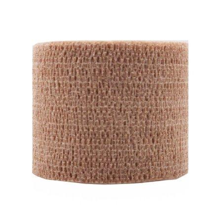 Cohesive Bandage CoFlex® NL 2 Inch X 5 Yard 12 lbs. Tensile Strength Self-adherent Closure Tan NonSterile Product Image