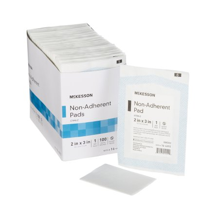 Non-Adherent Dressing McKesson Nylon / Polyester 2 X 3 Inch Sterile Product Image