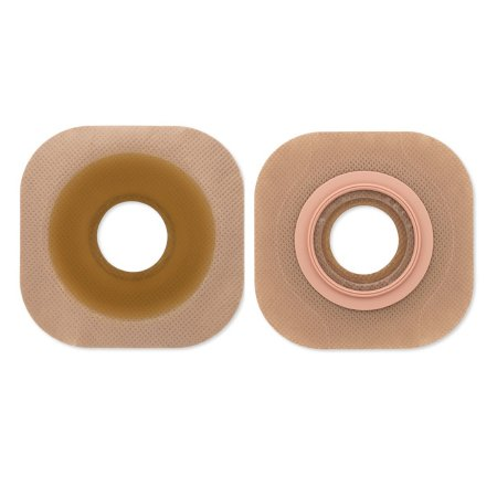 Ostomy Barrier FlexTend™ Trim to Fit, Extended Wear Without Tape 44 mm Flange Green Code System Hydrocolloid Up to 1-1/4 Inch Opening Product Image