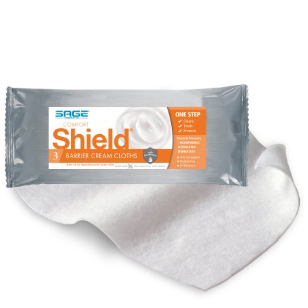 Incontinence Care Wipe Comfort Shield® Soft Pack Dimethicone Unscented 3 Count Product Image