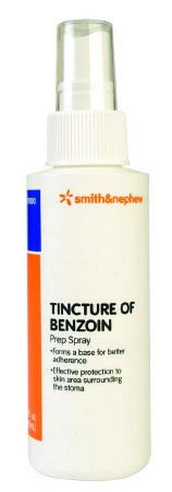 Smith&Nephew 407000 Benzoin Tincture 4 oz . Spray Bottle One Cs(12/Cs) Item No.:MM 40704912 Product Category > Over The Counter > First Aid > Benzoin Tincture <Br>#40704912 Smith & Nephew Mfr# 407000