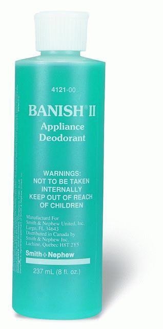 SMITH&NEPHEW 412100 Ostomy Appliance Deodorant Banish® 8 oz. Pump Bottle one CS(