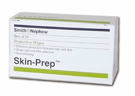 Smith&Nephew 420400 Skin Barrier Wipe Skin-Prep Purified Water, Diglycol, Glycerin, Sorbitol, Octoxynol-9, Dimethycone Copolyol, Diazolidinyl Urea, Methyparaben Individual Packet Nonsterile One Ea(50E