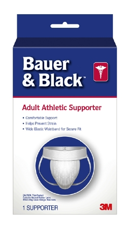 Athletic Supporter Bauer & Black™ Large White Product Image