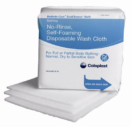 Rinse-Free Bath Wipe Bedside-Care® EasiCleanse™ Soft Pack Sodium Cocoyl Isethionate / Panthenol Scented 30 Count Product Image