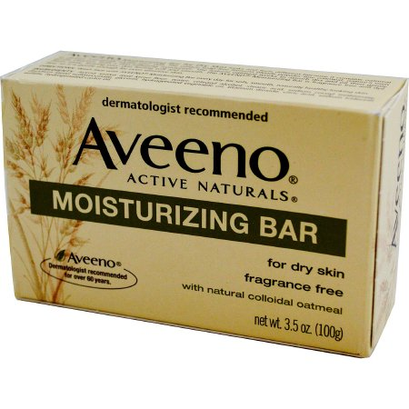 Soap Aveeno® Bar 3.5 oz. Individually Wrapped Unscented Product Image