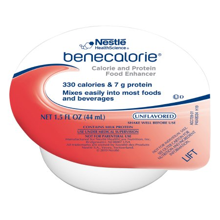 Calorie and Protein Food Enhancer Benecalorie® Unflavored 1.5 oz. Cup Ready to Use Product Image