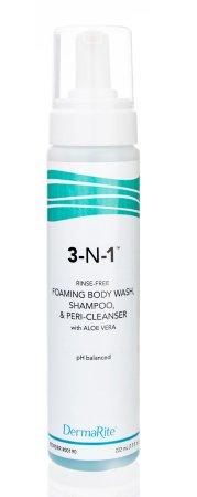 BODY WASH 3N1 CLEANSING FOAM 8 OZ PUMP BOTTLE (12/CASE)