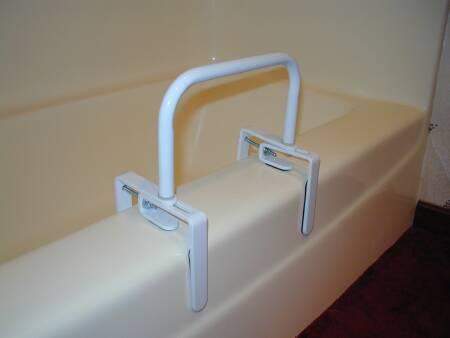 Bathtub Safety Rail Sunmark� 18 h White Steel Qnty: Bx/1 By Mckesson Brand Mf