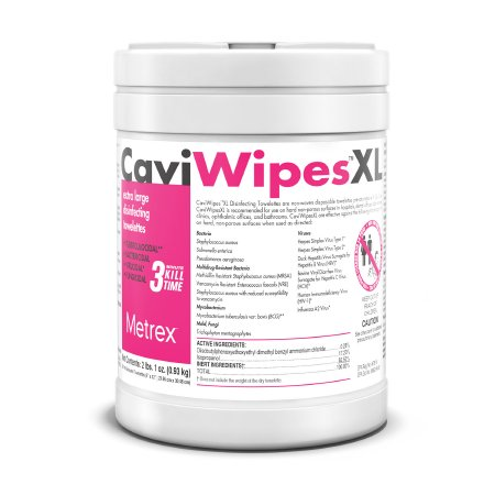 CaviWipes™ Surface Disinfectant, Wipe, 66 Count
