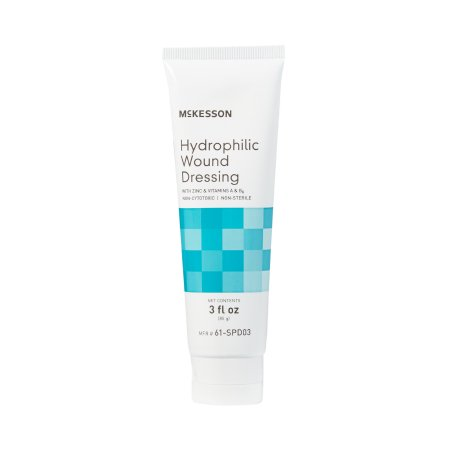 Hydrophilic Wound Dressing McKesson 3 oz. NonSterile Product Image
