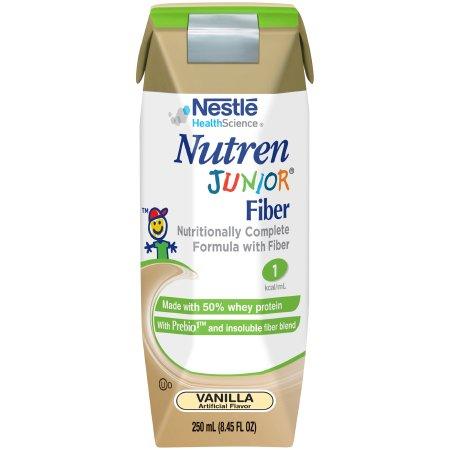 Pediatric Oral Supplement / Tube Feeding Formula Nutren® Junior Vanilla Flavor 8.45 oz. Tetra Prisma® Ready to Use Product Image