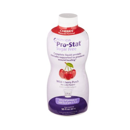 Protein Supplement Pro-Stat® Sugar-Free Wild Cherry Punch Flavor 30 oz. Bottle Ready to Use Product Image