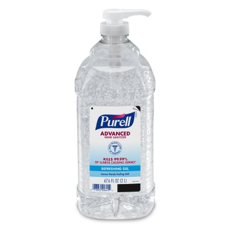 Hand Sanitizer Purell® Advanced 2,000 mL Ethyl Alcohol Gel Pump Bottle Product Image