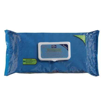 Personal Wipe Hygea® Premium Soft Pack Aloe / Vitamin E Scented 60 Count Product Image