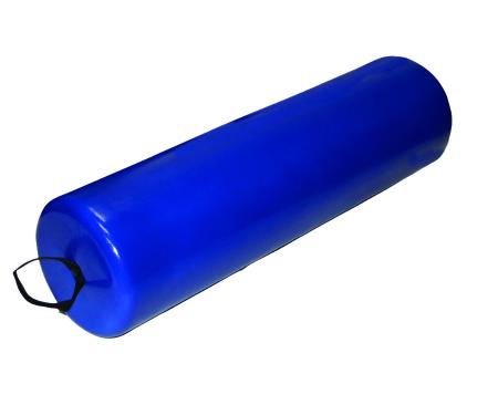 Skillbuilders® Positioning Roll, Foam, 8 in. Dia. x 36 in. L, Blue