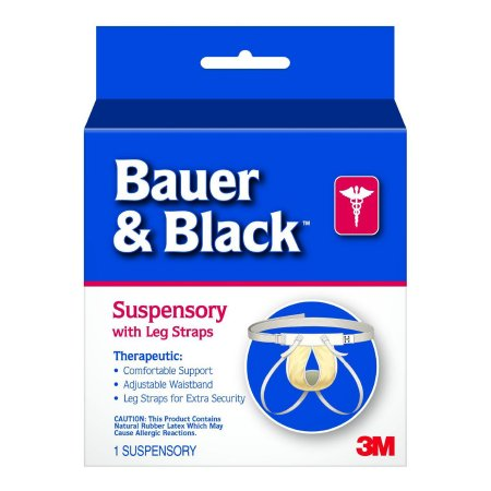 Athletic Supporter Bauer & Black™ X-Large White Product Image