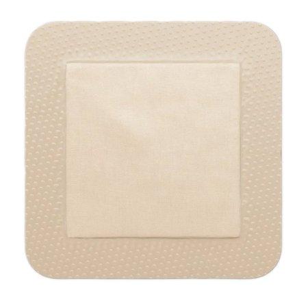 Thin Silicone Foam Dressing Mepilex® Border Lite 6 X 6 Inch Square Silicone Adhesive with Border Sterile Product Image