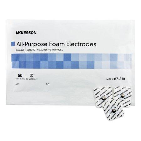 EKG Snap Electrode, Monitoring Non-Radiolucent (50/bag)