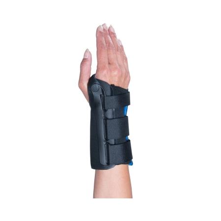 Wrist Brace Ossur® Exoform® Aluminum / Plastic Left Hand Black Medium Product Image