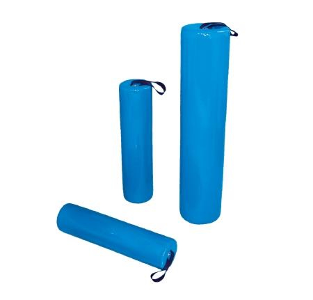 Skillbuilders® Positioning Roll, Foam, 8 in. Dia. x 24 in. L, Blue