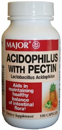 ACIDOPHILUS with Pectin (100/bottle)