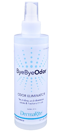 Dermarite 00258 Byebyeodor® Deodorizer Liquid 7.5 oz . Bottle One Cs(48Ea/Cs)