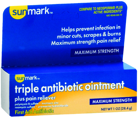 sunmark® First Aid Antibiotic