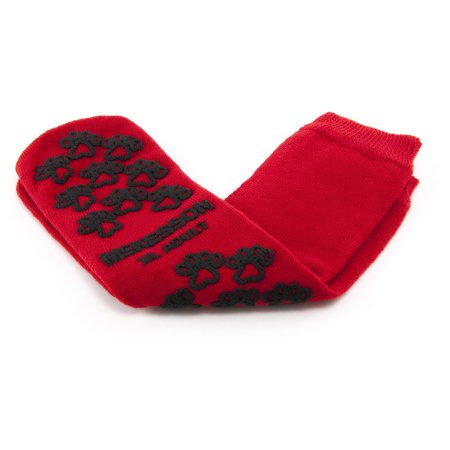 Slipper Socks McKesson Terries™ X-Large Red Above the Ankle Product Image