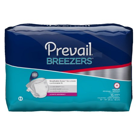 Adult Incontinence Unisex Prevail Breezers Heavy Absorbency- Case