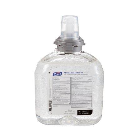 Hand Sanitizer Purell® Advanced 1,200 mL Ethyl Alcohol Gel Dispenser Refill Bottle Product Image