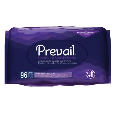 Personal Wipe Prevail® Tub Refill Aloe / Vitamin E / Chamomile Fresh Scent 96 Count Product Image