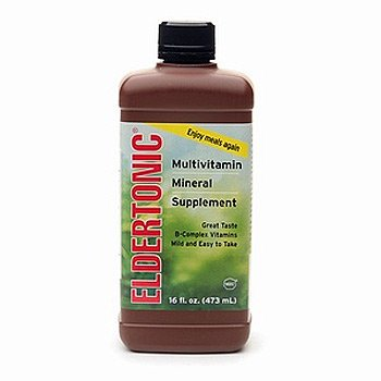 Eldertonic Multivitamin with Minerals Supplement 16oz (1/each)