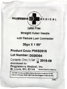 Progressive Medical PMIS2015