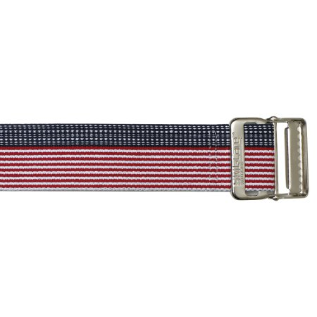 Gait Belt SkiL-Care™ 60 Inch Length Stars and Stripes Design Cotton Product Image