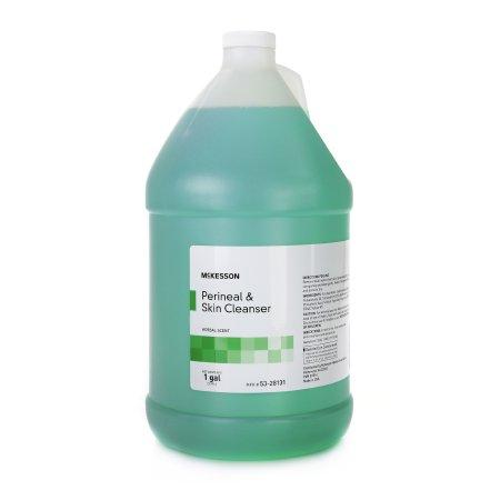 Rinse-Free Perineal Wash McKesson Liquid 1 gal. Jug Herbal Scent Product Image