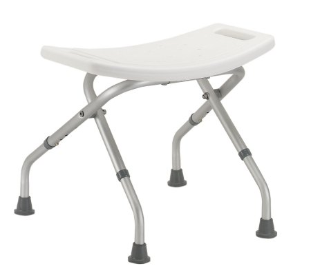 Folding Bath Bench drive™ Without Arms Aluminum Frame Without Backrest 19-3/4 Inch Seat Width Product Image