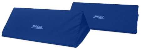 Skil-Care™ Positioning Wedge, Foam, 24 in. L x 12 in. W x 7 in. H, Blue