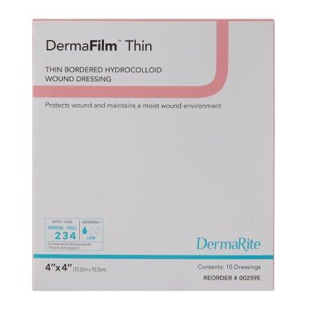 Hydrocolloid Dressing DermaFilm Thin 4
